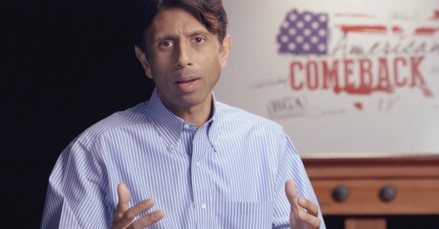 Gov. Bobby Jindal in a recent video by the Republican Governors Association.