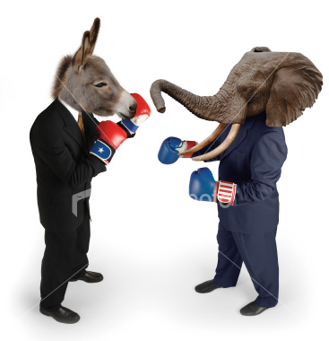 istockphoto_3887591_democrat_vs_republican_on_white1