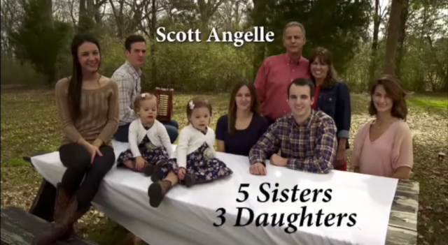 Screen shot of Scott Angelle TV spot