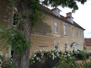 The former church vicarage in Olney, where John Newton wrote the words to