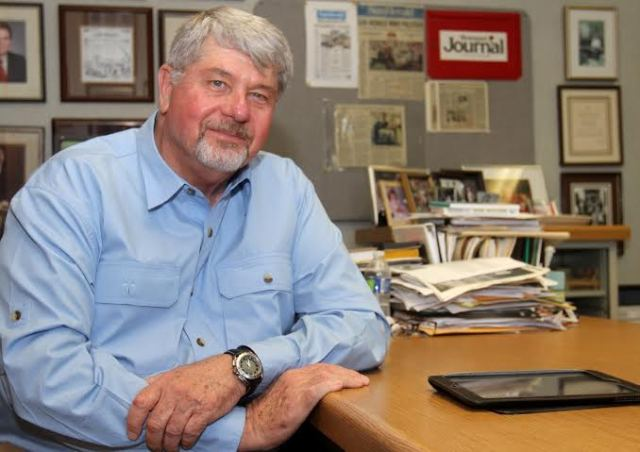 Stan Tiner, editor of the Biloxi Sun Herald, will retire at the end of August. (Photo by John Fitzhugh, courtesy of Sun Herald)