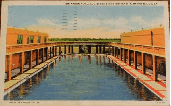 Field House post card