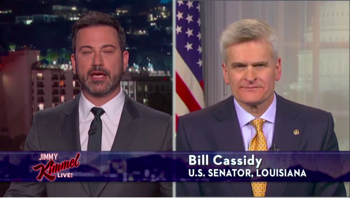 Sen Bill Cassidy Betrays Sick Kids Fails The Jimmy